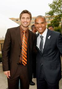 Eric Winter and Amaury Nolasco at the 2007 NCLR ALMA Awards.