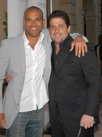 Amaury Nolasco and Brett Ratner at the Chrysalis' Fourth Annual Butterfly Ball.