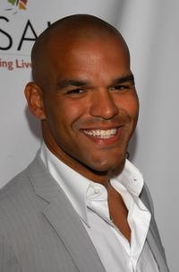 Amaury Nolasco at the Chrysalis Fourth Annual Butterfly Ball.