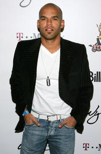 Amaury Nolasco at the Billboard Awards pre-party.