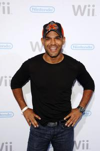 Amaury Nolasco at the launch party of the Nintendo