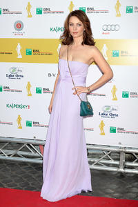 Violante Placido at the 2011 Premi David di Donatello Italian Academy Awards in Rome.