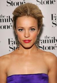 Rachel McAdams at the special holiday screening of