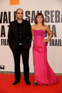 Luis Tosar and Marta Etura at the premiere of