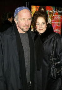 Arliss Howard and Debra Winger attend the premiere of