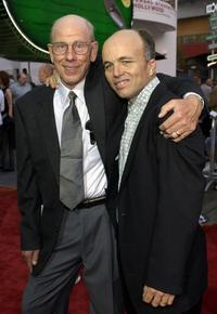 Rance Howard and Clint Howard at the premiere of