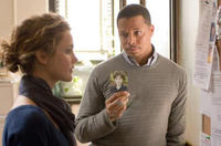 Keri Russell and Terrence Howard in