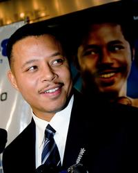 Terrence Howard at the special screening of the