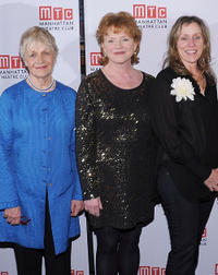 Estelle Parsons, Becky Ann Baker and Frances McDormand at the opening night party of