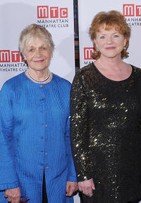Estelle Parsons and Becky Ann Baker at the opening night party of