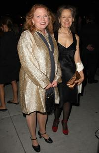 Becky Ann Baker and Lizbeth Mackay at the opening night of