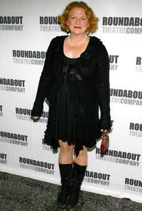 Becky Ann Baker at the opening night of