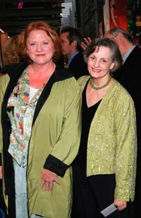 Becky Ann Baker and Dana Ivey at the opening night of