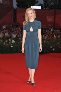 Sarah Gadon at the premiere of