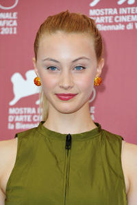 Sarah Gadon at the photocall of