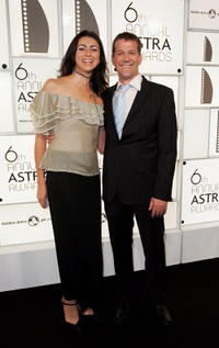 Rhys Muldoon and Guest at the 6th Annual ASTRA Awards in Australia.