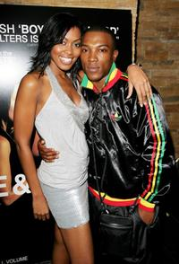 Louise Rose and Ashley Walters at the VIP screening of