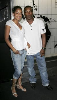 Ashley Walters and Guest at the after party of the UK premiere of