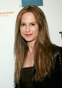 Holly Hunter at the Tribeca Film Festival screening of