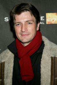 Nathan Fillion at the screening of