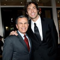 Tony Plana and Zachary Levi at the 9th Annual Family Television Awards.