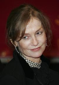 Isabelle Huppert at the 56th Berlinale Film Festival for the premiere of
