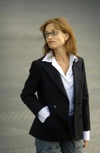 Isabelle Huppert at the San Sebastian International Film Festival.