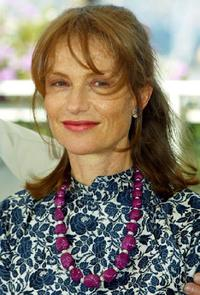 Isabelle Huppert at the 56th International Cannes Film Festival.