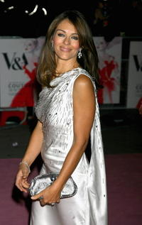 Elizabeth Hurley at the The Golden Age Of Couture party.