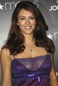 Elizabeth Hurley at the launch of the Jordache Spring/Summer 2007 collection.