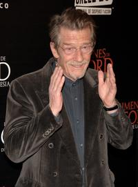 John Hurt at the Madrid premiere of