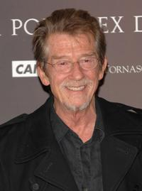 John Hurt at the Madrid photocall of