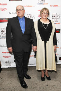 Screenwriter Paul Schrader and Mary Beth Hurt at the 55th Annual Drama Desk Awards in New York.