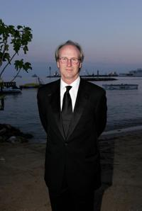 William Hurt and Bob Shaye at the premiere of