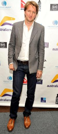Tom Hooper at the screening of