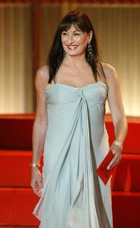 Anjelica Huston at the 53rd San Sebastian International Film Festival.