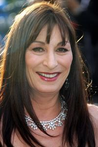 Anjelica Huston at the Vanity Fair Oscar Party at Mortons.