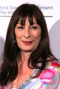Anjelica Huston at the US-Ireland and Alliance 'Oscar Wilde Awards.
