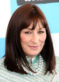 Anjelica Huston at the 22nd Annual Film Independent Spirit Awards.
