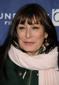 Anjelica Huston at the Sundance Film Festival premiere of
