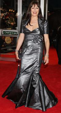 Anjelica Huston at the London premiere of