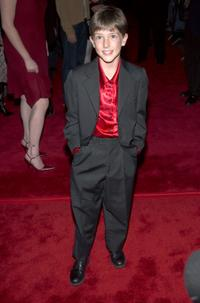 Tyler Patrick Jones at the premiere of