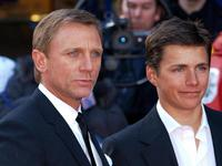 Daniel Craig and Harry Eden at the World premiere of