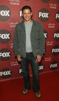 Wentworth Miller at the Fox Fall Eco-Casino party.