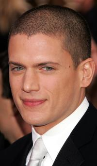 Wentworth Miller at the 63rd Annual Golden Globe Awards.