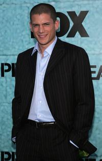 Wentworth Miller at the premiere party of