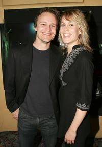 Damon Herriman and Ainslie McGlynn at the premiere of
