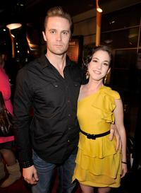 Garret Dillahunt and Martha MacIsaac at the premiere of