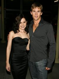 Alison Lohman and Ryan Kwanten at the premiere of