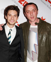 Ben Barnes and Peter Serafinowicz at the UK premiere of